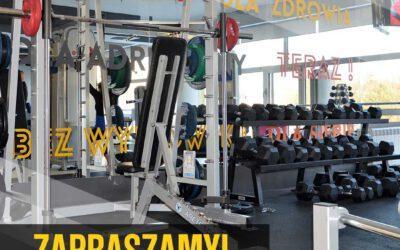 Specjalna promocja w strefie fitness
